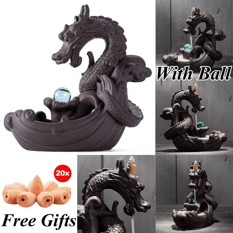 Ceramic Backflow Incense