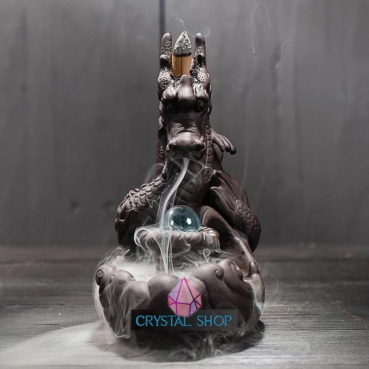 incense burner dragon