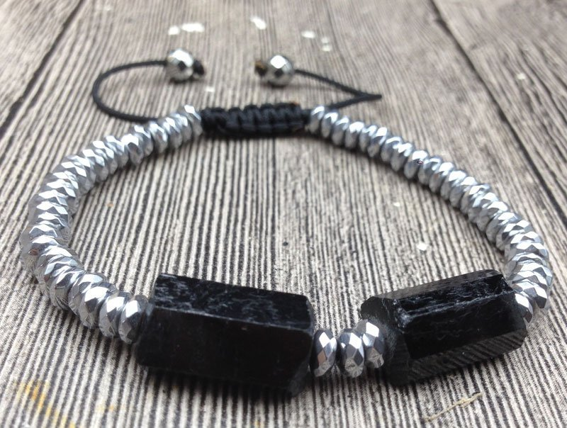 Black Tourmaline Bracelet – High Quality Natural Stone
