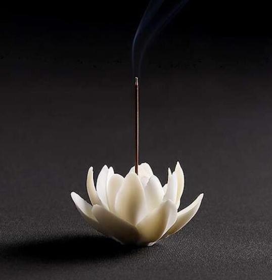 lotus incense holder