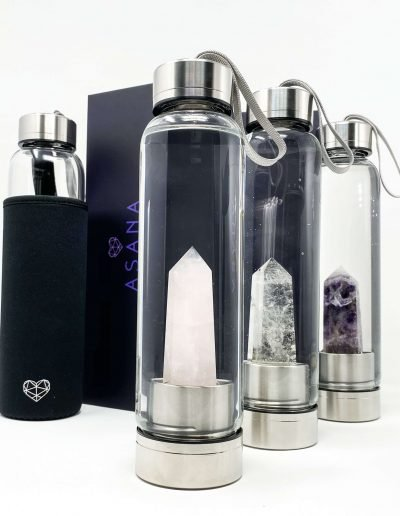 crystal water bottle for sale