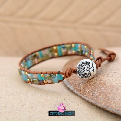 Tree of Life Beaded Bracelet