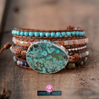 Ocean Jasper Multi Layered Bracelet