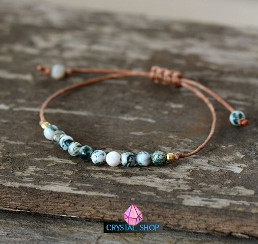 Gemstone Rope Bracelet