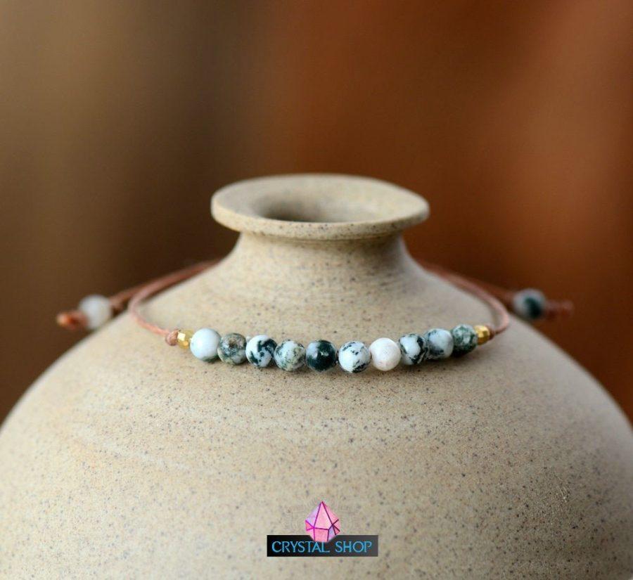 Gemstone Rope Bracelet