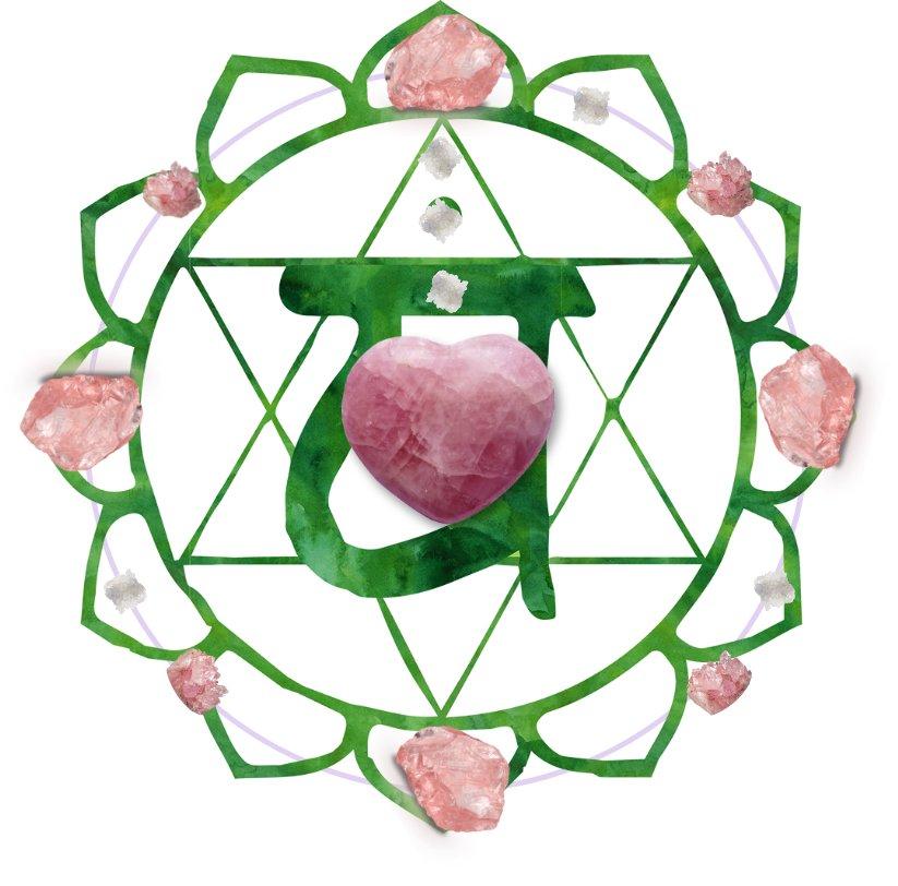 roze quartz grid