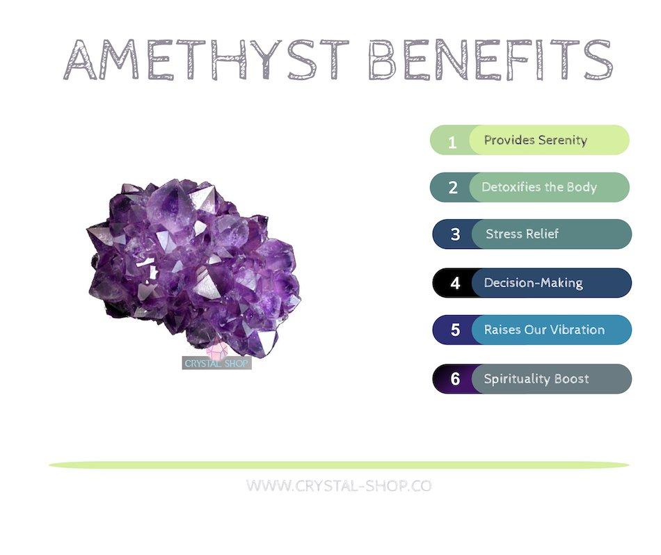 amethyst stone healing properties