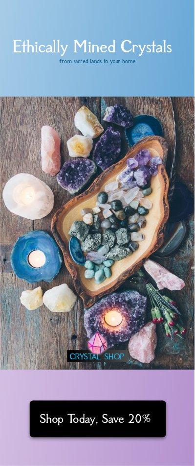 crystal shop healing