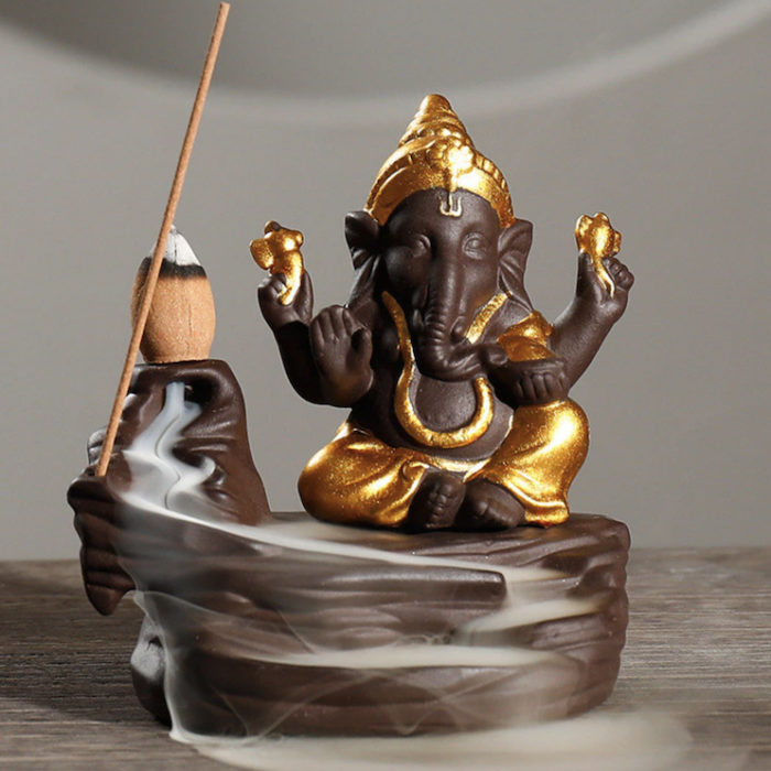 ganesha incense holder