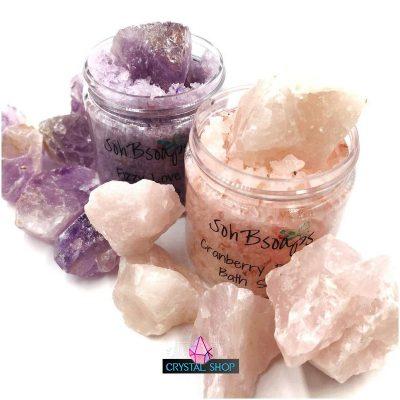 Crystal Infused Bath Salts