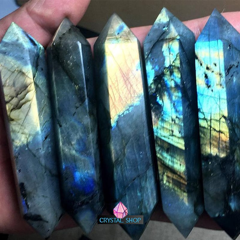 Labradorite Double Point 1