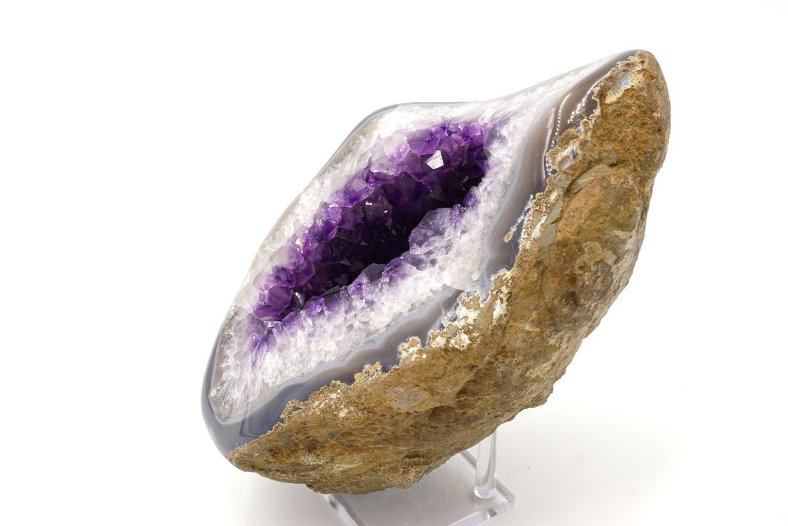 amethyst geode meaning