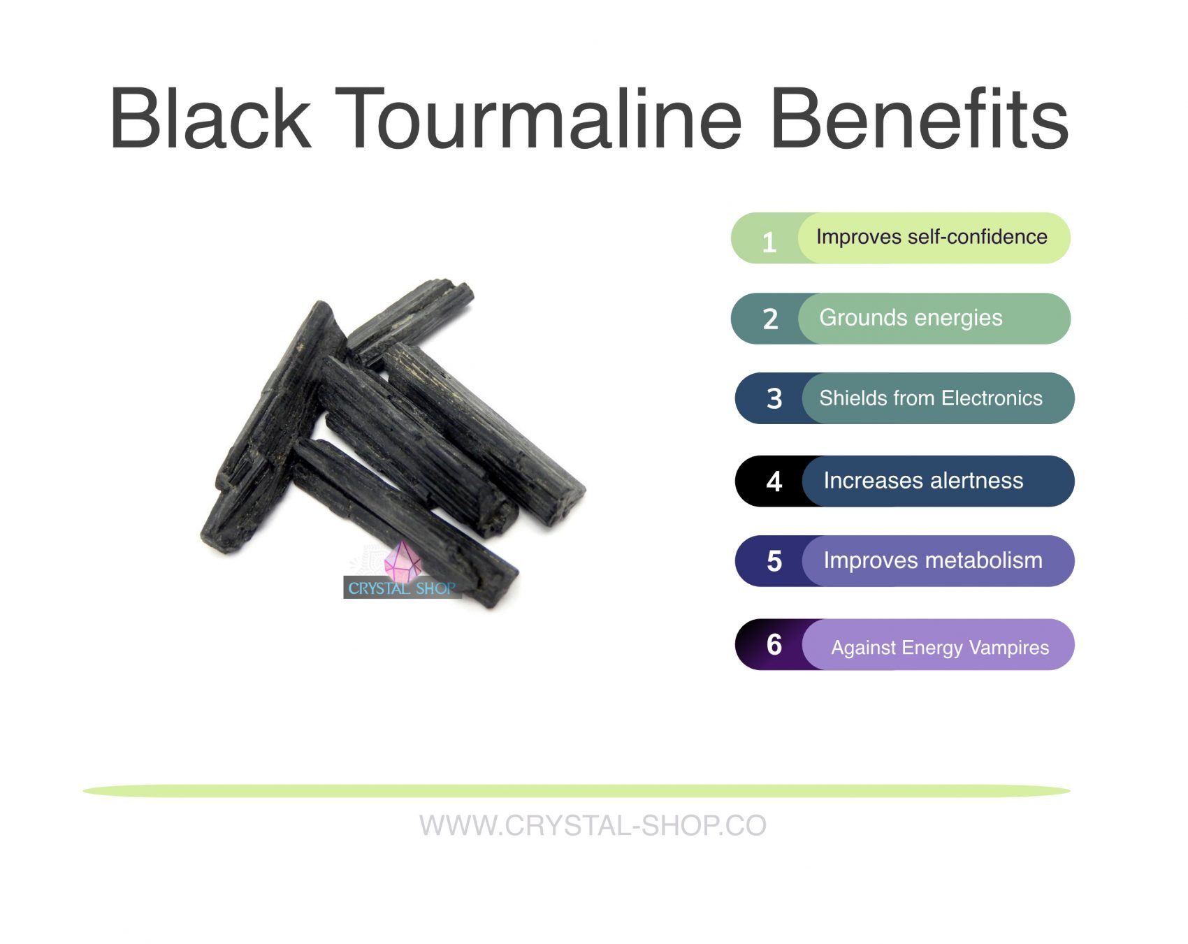 black tourmaline benefits
