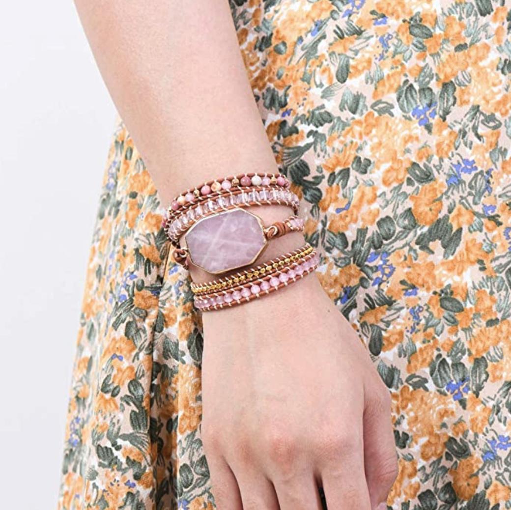 rose quartz bracelet 3