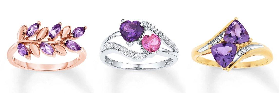 Amethyst engagement ring 1