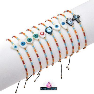 greek evil eye bracelet