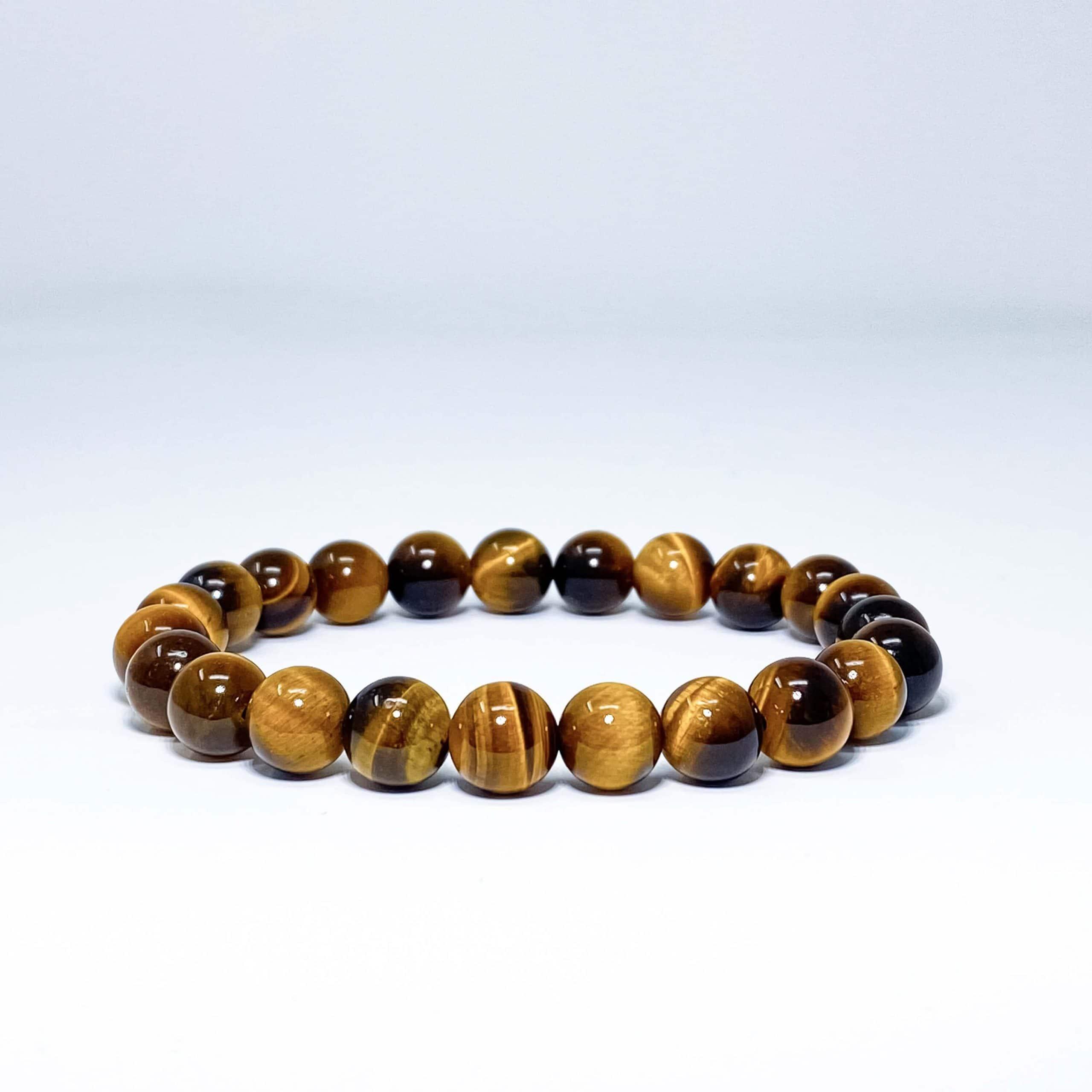 tiger eye beaded bracelet scaled