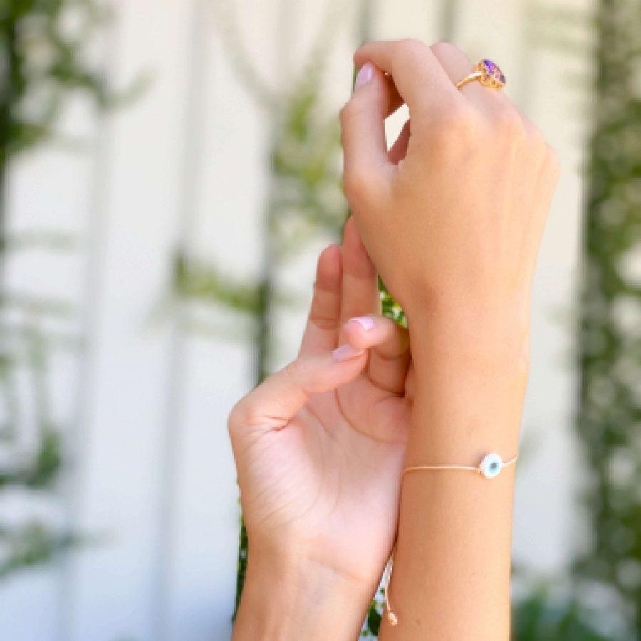 ametrine ring engagement crystal