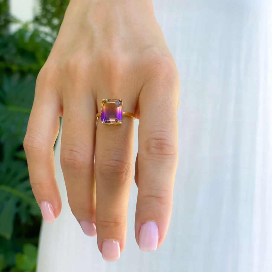 crystal rings ametrine