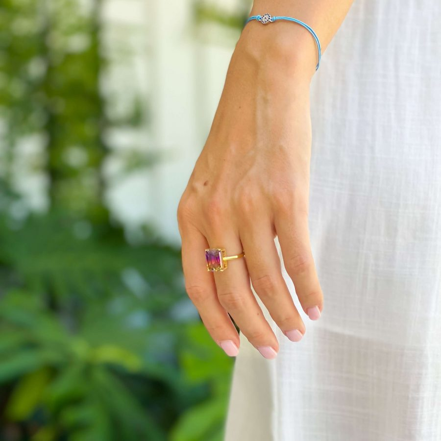 ametrine promise ring