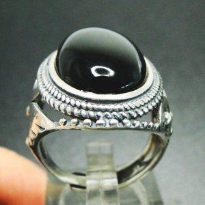 black onyx ring mens