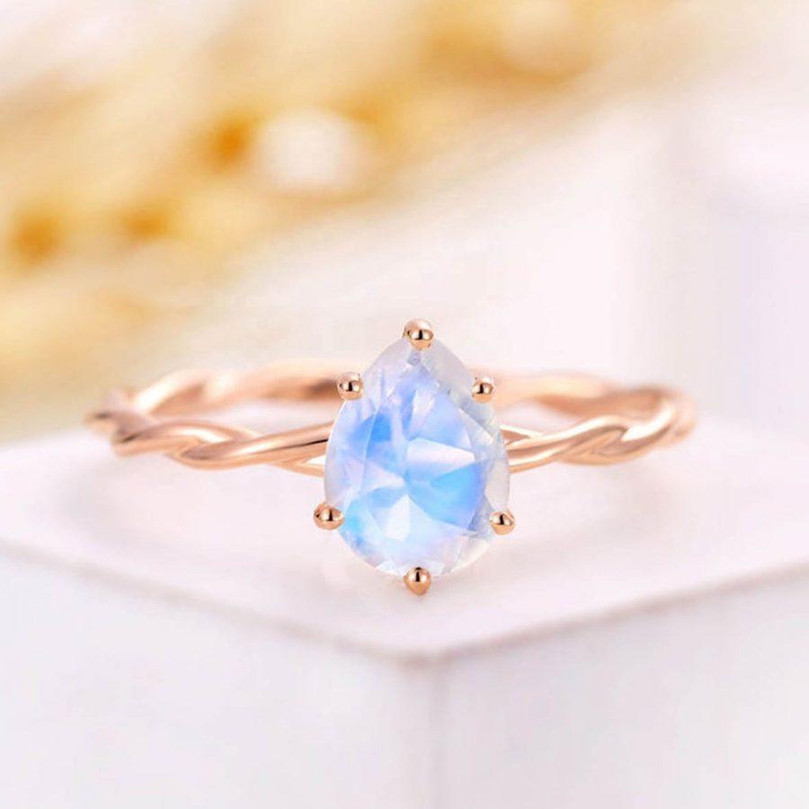 moonstone ring