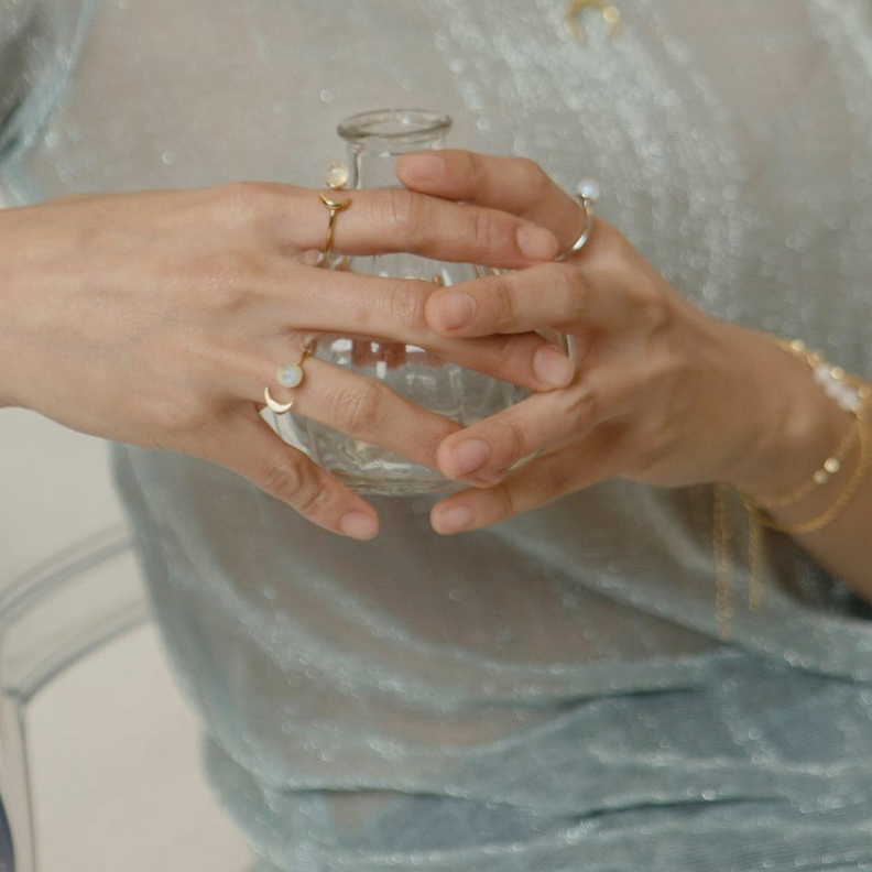sun and moon moonstone ring 1
