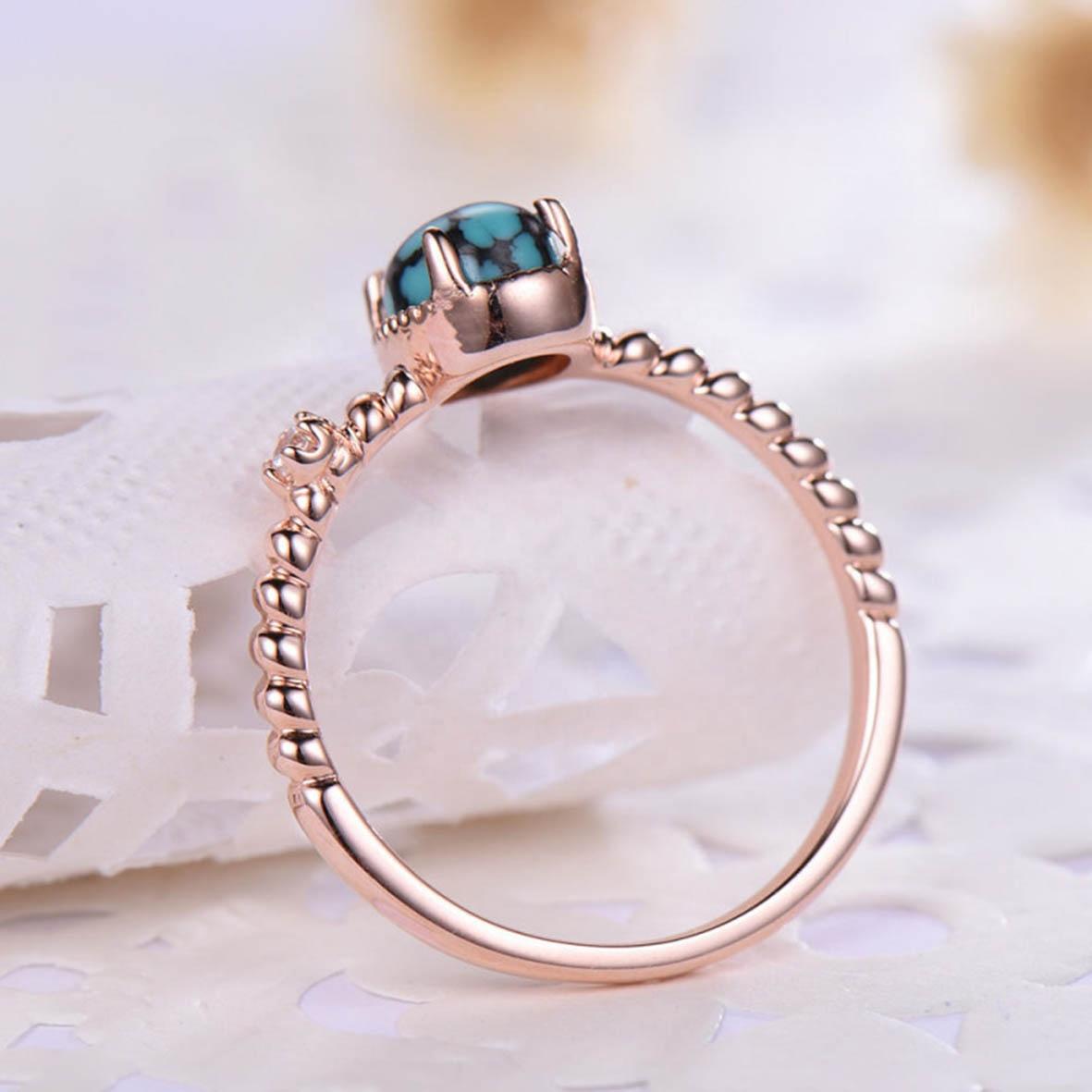 turquoise ring women 2