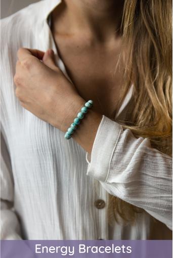 stone energy bracelets