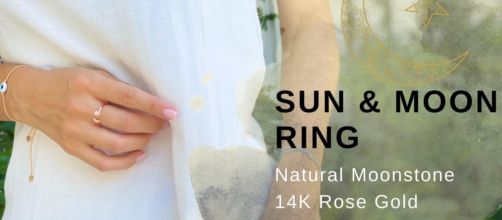 crystal ring moonstone